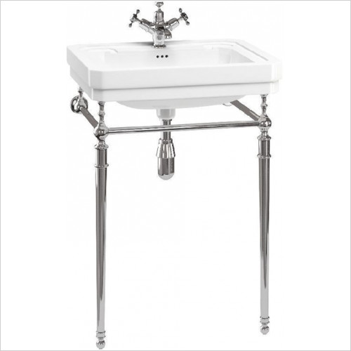 Burlington Bathrooms - Basin Stand 56/58cm