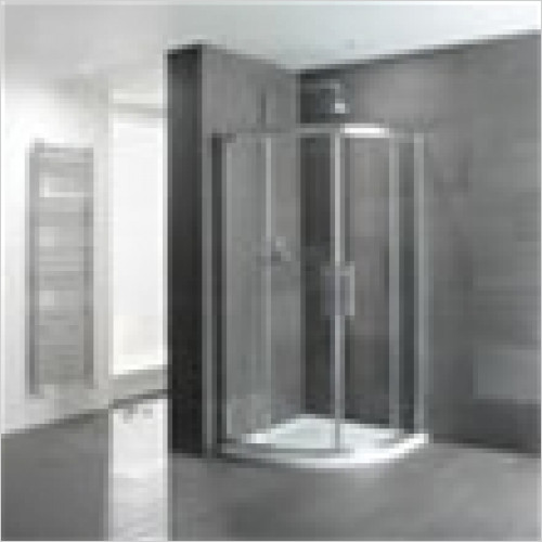 Estuary Bathrooms - Volente Quadrant Enclosure 900mm