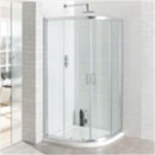 Estuary Bathrooms - Vantage Easy Clean Quadrant Enclosure 1000mm