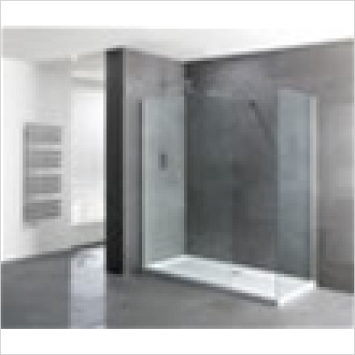 Estuary Bathrooms - Volente Walk-In Front Panel 1000mm