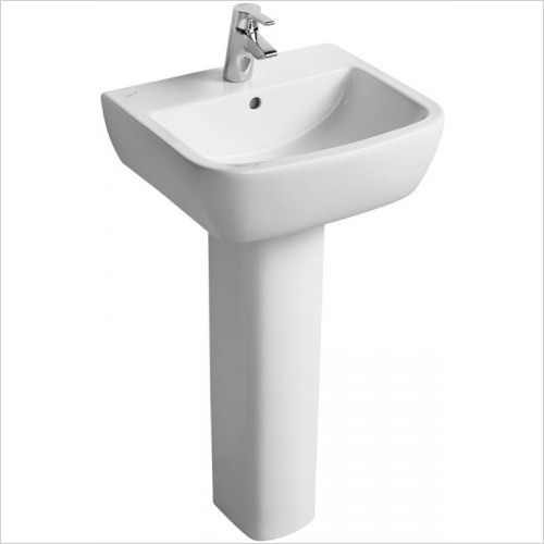 Ideal Standard - Bathrooms - Tempo 500mm Washbasin, 1TH