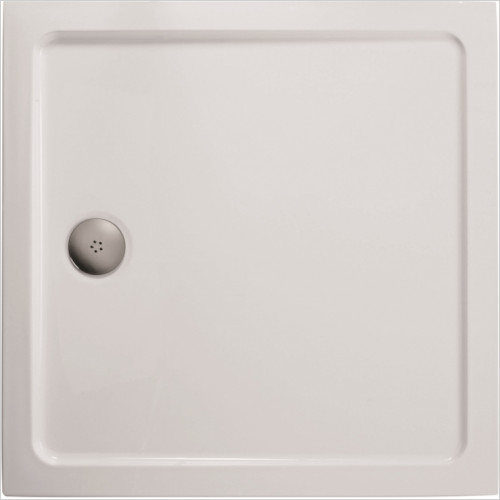 Ideal Standard - Bathrooms - Idealite Flat Top Shower Tray, 760 x 760mm & CP Waste