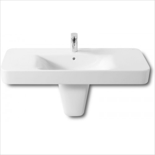 Roca - Senso Square Basin 1000 x 475mm 1TH