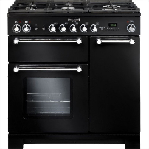 Rangemaster Appliances - Kitchener 90cm Range Cooker, Dual Fuel With FSD