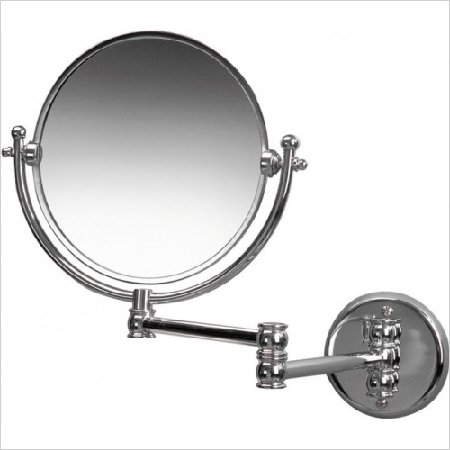 Miller From Sweden Accessories - Classic Double Arm Mirror 8''