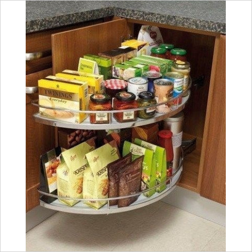 Solutions Kitchen Products - Pull Out Carousel For Use With 1000mm Corner Base Unit