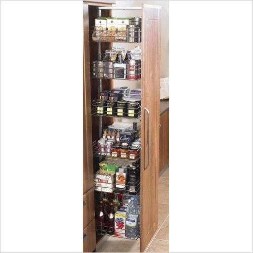Solutions Kitchen Products - Pull Out Larder 600mm