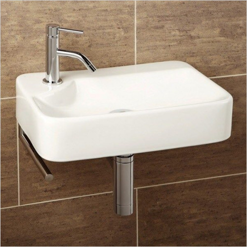 HiB Bathrooms - Lugo Washbasin 44 x 10 x 30cm