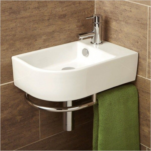 HiB Bathrooms - Temoli Washbasin 41 x 12.5 x 26.5cm