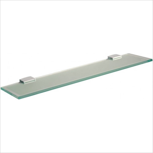 Miller From Sweden Accessories - Classic Shelf 600mm With Chrome Brackets