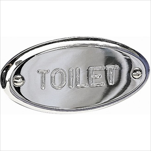 Miller From Sweden Accessories - Classic Toilet Sign