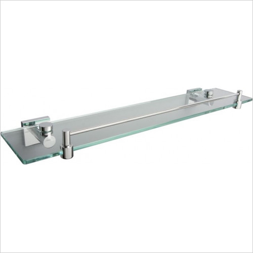 Miller From Sweden Accessories - Atlanta Shelf With Guard Rail