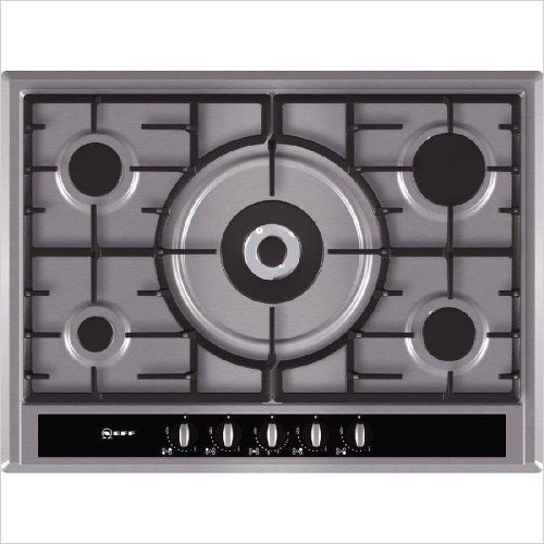 Neff - 70cm Extra Wide Gas Hob, Front Control