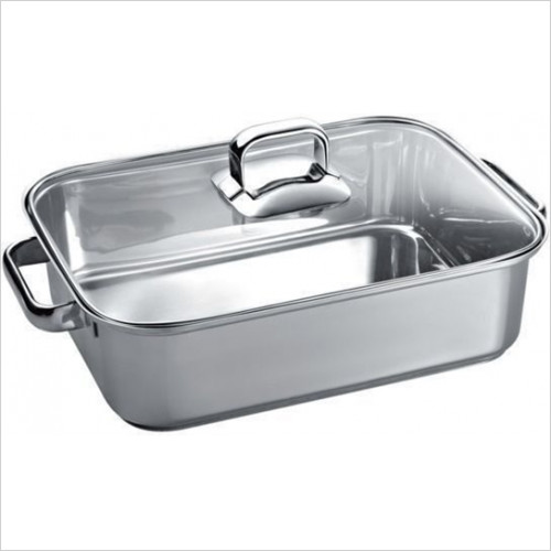Bosch - Rectangular Roasting Pan With Lid 30 x 20cm