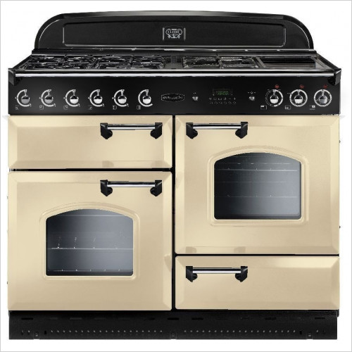 Rangemaster Appliances - Classic 110cm Range Cooker, Dual Fuel With FSD
