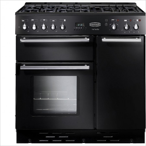 Rangemaster Appliances - Toledo 90cm Range Cooker, Dual Fuel With FSD