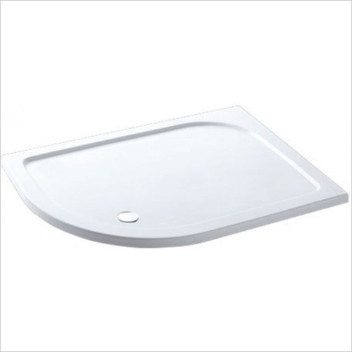 Estuary Bathrooms - Volente Offset Quad ABS Stone Resin Tray 1100 x 760mm LH