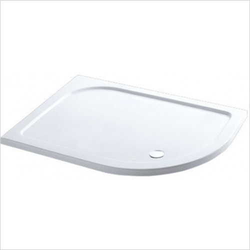 Estuary Bathrooms - Volente Offset Quad ABS Stone Resin Tray 1100 x 760mm RH