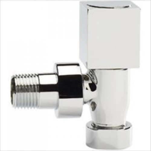 Estuary Accessories - Square Angled Radiator Valves