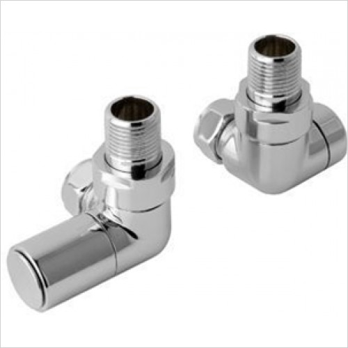 Estuary Accessories - Corner Radiator Valves, Pair