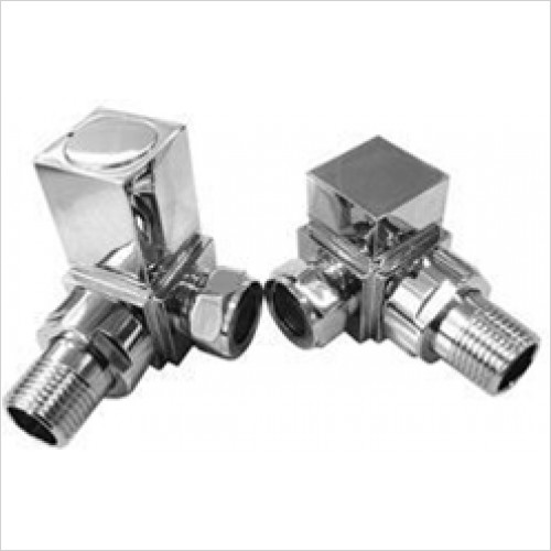 Estuary Accessories - Square Corner Rad Valves