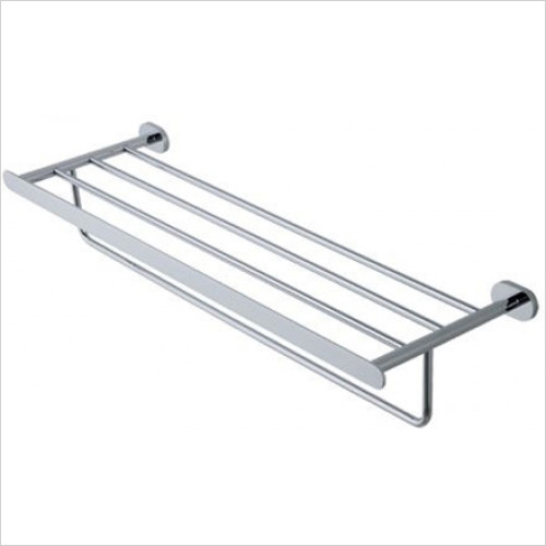 Estuary Accessories - Salerno Towel Rack With Bar