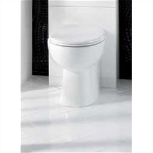 Estuary Bathrooms - Anjou High Level Back To Wall Pan