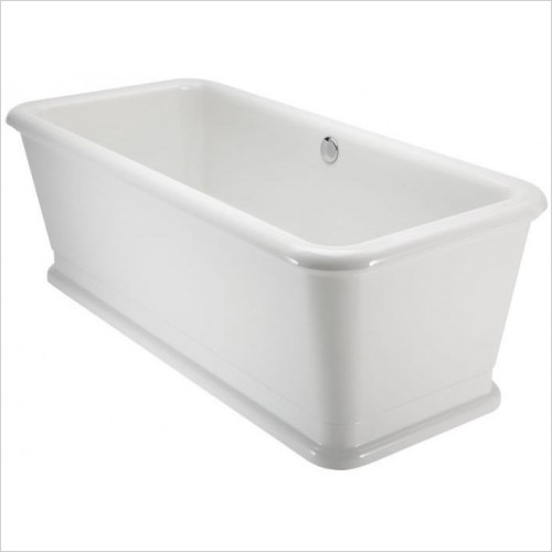 Burlington Bathrooms - London Rectangle Soaking Tub 180 x 85cm