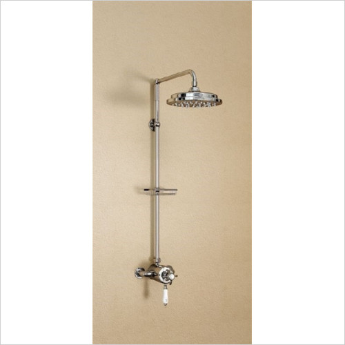Burlington Bathrooms - Anglesey Wye Exposed Thermostatic Shower