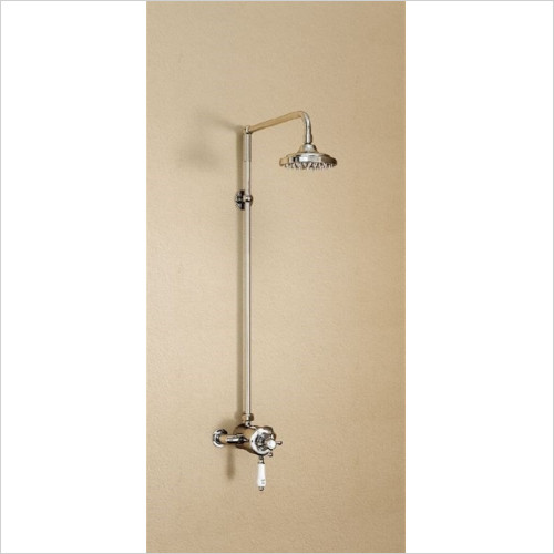 Burlington Bathrooms - Claremont Wye Exposed Thermostatic Shower
