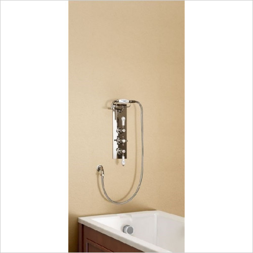 Burlington Bathrooms - Claremont Clyde Concealed Thermostatic Shower