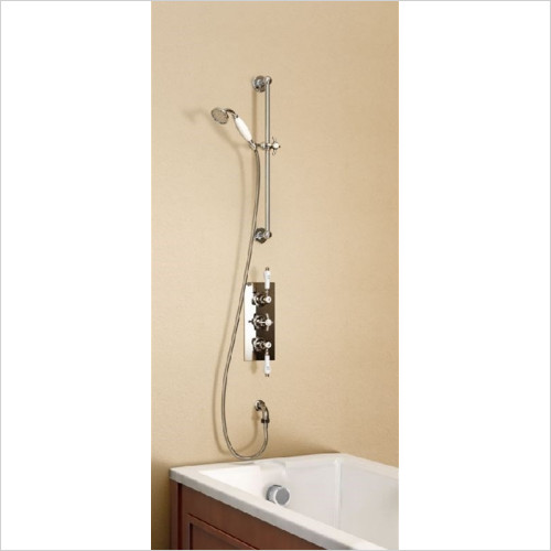 Burlington Bathrooms - Anglesey Clyde Concealed Thermostatic Shower