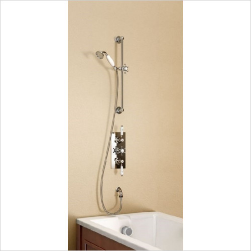 Burlington Bathrooms - Birkenhead Clyde Concealed Thermostatic Shower