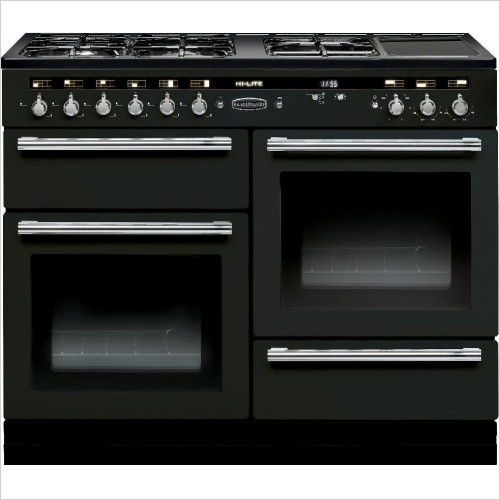 Rangemaster Appliances - Hi-Lite 110cm Range Cooker, Dual Fuel