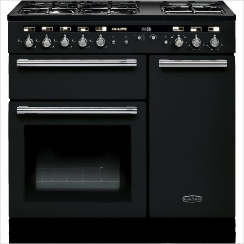 Rangemaster Appliances - Hi-Lite 90cm Range Cooker, Dual Fuel