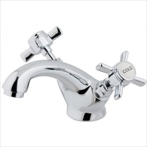 Estuary Bathrooms - Haymarket Mono Basin Mixer, Clicker Waste