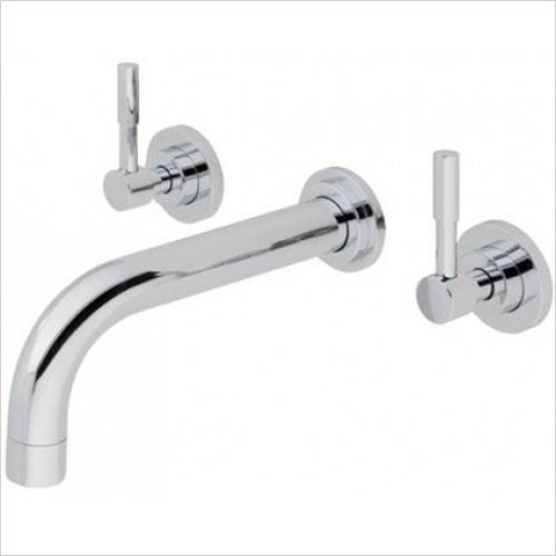 Estuary Bathrooms - Leith Wall Mounted Basin Mixer