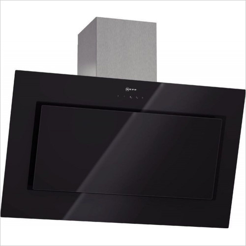 Neff - 90cm Angled Design Chimney Hood With Glass