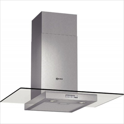 Neff - 70cm Flat Design Chimney Hood With Glass