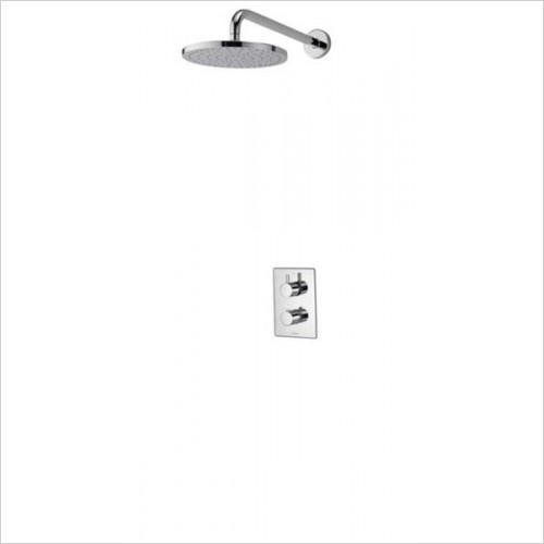 Dream DCV Mixer Shower W Wall Fixed Drencher Head