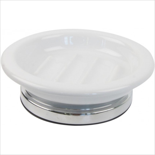 Miller From Sweden Accessories - Classic Freestanding Ceramic Soap Dish