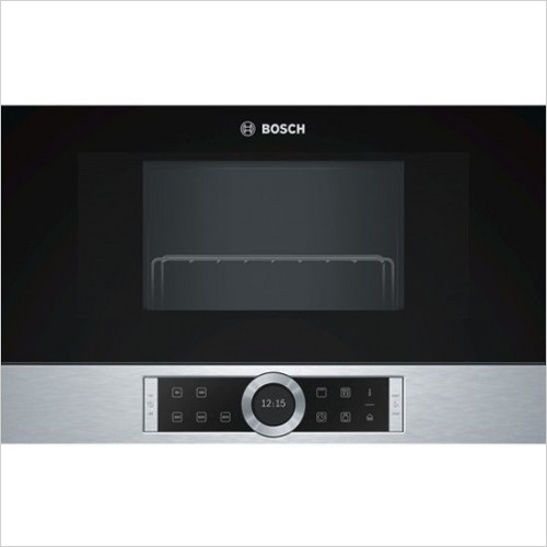 Bosch - Serie 8 Microwave Oven 900W, 21L, LH Hinge
