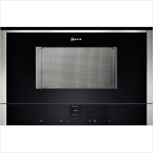 Neff - N70 Compact Microwave Oven 900W, 21L, RH Hinged