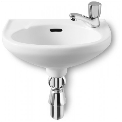 Roca - Laura Cloakroom Basin 350 x 225mm 1TH RH