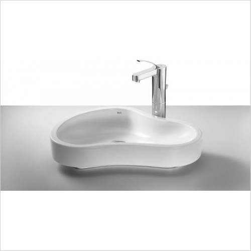 Roca - Urbi 8 On Countertop Basin 550 x 400mm
