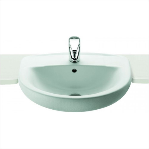 Roca - Laura Semi Recessed Basin 510 x 400mm 1TH