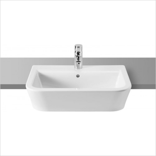 Roca - The Gap Semi Recessed Basin 560 x 400mm 1TH
