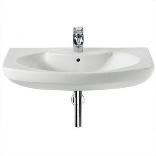 Roca - Senso Wall Hung Basin 580 x 460mm 1TH