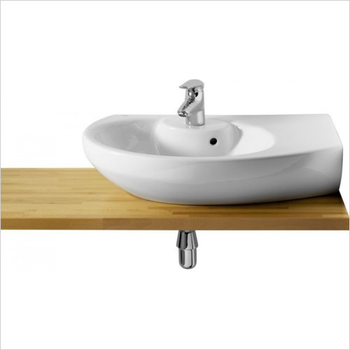 Roca - Senso Compact Corner Basin 680 x 425mm 1TH RH