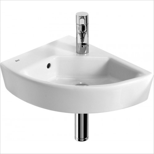 Roca - Hall Corner Basin 350 x 430mm 1TH LH